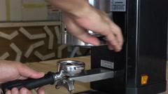Step coffee fresh Coffee Stock Footage