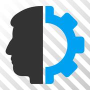 Android Head Vector Icon Stock Illustration