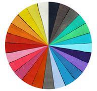 Spectrum - Color Range Stock Illustration