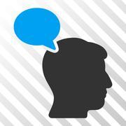 Person Opinion Vector Icon Stock Illustration