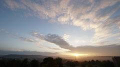 Sunrise Time Lapse Stock Footage