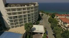Amara Sealight Resort with the Aegean sea on the background Stock Footage