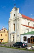 Catholic Church of St. Joseph, Minsk, Belarus Stock Photos