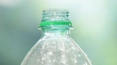 Fresh cool mineral water Stock Footage
