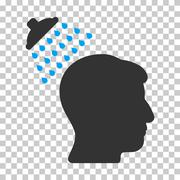 Head Shower Vector Icon Piirros
