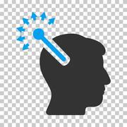 Optical Neural Interface Vector Icon Stock Illustration