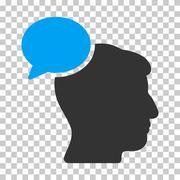 Person Idea Vector Icon Stock Illustration