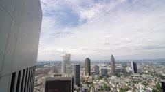 Frankfurt Timelapse Stock Footage