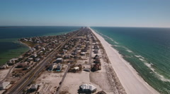 Pensacola Beach Florida Stock Footage