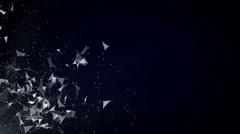 Abstarct Plexus Background Stock Footage