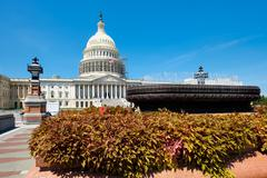 The US Capitol in Washington D.C. Stock Photos