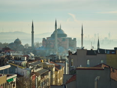 Istanbul in the morning Stock Footage