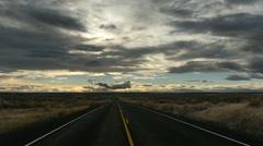 Rural Highway Stock Footage