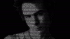 Sid Vicious Punk Face Stock Footage