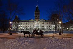 Quebec parliament Stock Photos