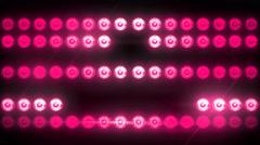 Flashing Light Patterns PINK Stock Footage