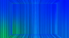 Broadcast Vertical Hi-Tech Lines Stage, Blue, Abstract, Loopable, 4K Stock Footage