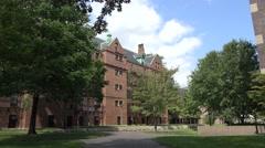 Harvard University, Cambridge, MA. Stock Footage