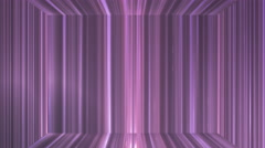 Broadcast Vertical Hi-Tech Lines Stage, Purple, Abstract, Loopable, 4K Stock Footage
