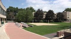 The Caspersen Student Center, Harvard University, Cambridge, MA. Stock Footage