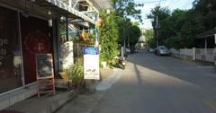 walking tou in Chiang Mai 4k Stock Footage