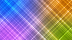 Broadcast Intersecting Hi-Tech Slant Lines, Multi Color, Abstract, Loopable, 4K Stock Footage