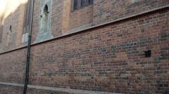 Parish of Assumption of Blessed Virgin Mary, Torun Stock Footage