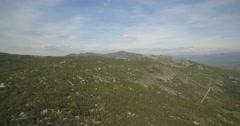 Aerial, Flying Around Jezero Krupac  Lake, Montenegro Stock Footage