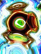 Abstract colorful background with motion, dynamic and movement concept. Circle Piirros