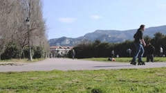 Parc Borely Marseille Stock Footage