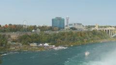 4K Niagara Falls Maid of the Mist Stock Footage