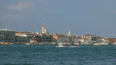 Excursion in Italian Venice Stock Footage