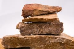 Rocks overlapped Stock Photos