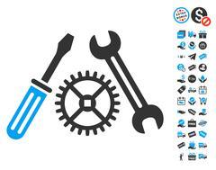 Tuning Service Icon With Free Bonus Stock Illustration