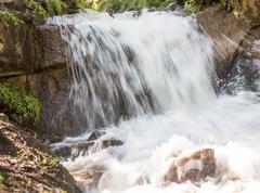 Beautiful waterfall in nature Kuvituskuvat