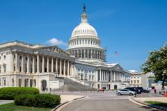 The United States Capitol in Washington D.C. Stock Photos