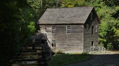 Mingus Mill Smoky Mountains North Carolina Stock Footage