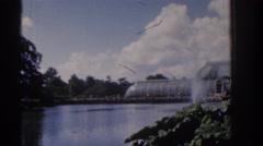 1961: a beautiful nature like park. IRELAND Stock Footage