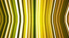 Broadcast Twinkling Vertical Bent Hi-Tech Strips, Green, Abstract, Loopable, 4K Stock Footage