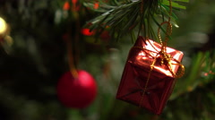 Christmas Decor Stock Footage
