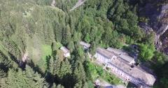 Val Masino - Spa Bagni Masino Stock Footage