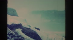 1971: scenes of a time long since past NIAGARA FALLS NEW YORK Stock Footage