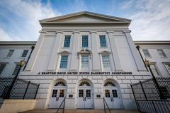 The J Bratton Davis United States Bankruptcy Courthouse, in Columbia, South C Stock Photos