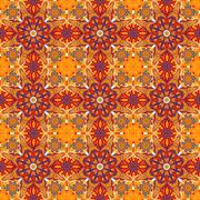 Ornamental round morocco seamless pattern. Orient traditional ornament. Oriental Stock Illustration