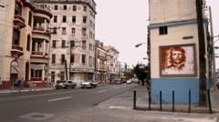 Street scene in havana, cuba Stock Footage