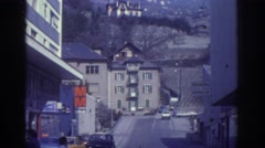 1976: small town comfort. WATKINS GLEN NEW YORK Stock Footage