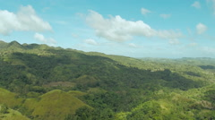 Filipina jungle and forest. Aerial views 3 Stock Footage
