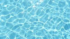 Tranquil water in a pool ,  slow motion 1 Stock Footage