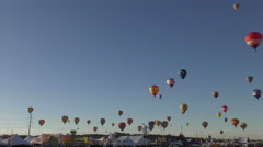 Albuquerque balloon fiesta 2016 Stock Footage