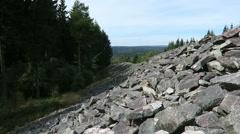 The Celtic hill fort of Otzenhausen Stock Footage